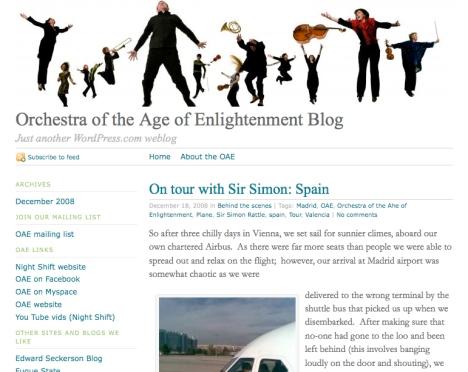 OAE blog