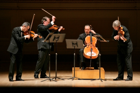 Emerson String Quartet credit Richard Termine-New York Times-Redux-Eyevine